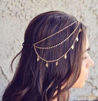 jewels head jewels hair accessory jeans