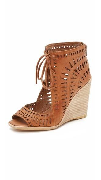 tan sandals wedge sandals shoes