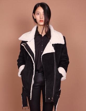 black coat oversized coat oversized jacket streetwear street fashion streetstyle tumblr outfit