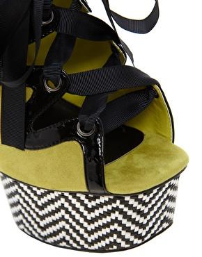 ASOS   ASOS HUMMINGBIRD Platform Sandals at ASOS