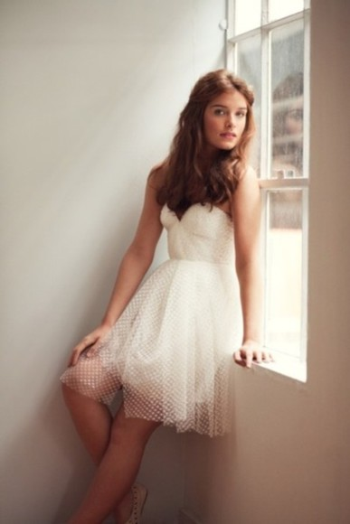 dress bustier dress short dress puffy dresses lace dresses strapless bustier dress wedding dress prom dress strapless dress white dress party dress