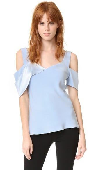 blouse draped top