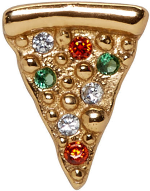 Marc Jacobs pizza gold jewels