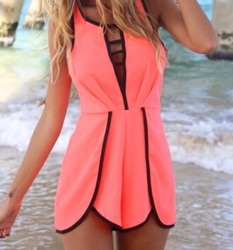sweet perfect girl beach sea coral