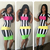 New Arrival Colorful Dress for 2014 Striped Bandage Dress Women Sexy Eveing Club  Miami address Novelty Outfit 5601-in Dresses from Apparel & Accessories on Aliexpress.com