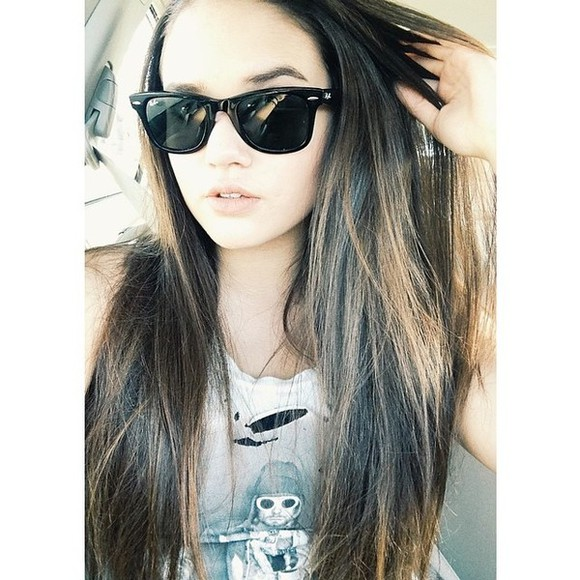 sunglasses black maddison pettis