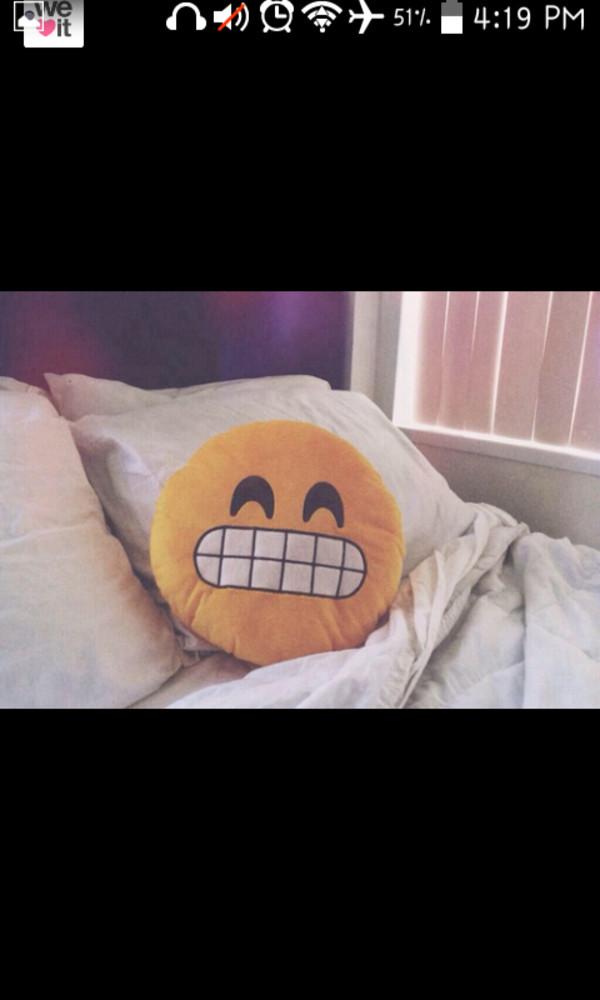 top emoji print emoji pillow iphone