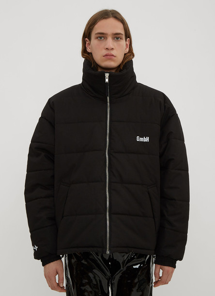 GmbH Ripstop Padded Jacket in Black size M
