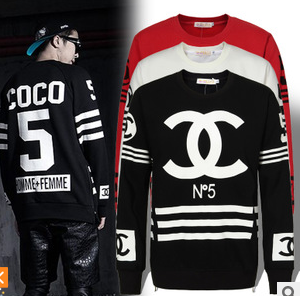 Coco cc no 5 unisex homme femme pullover sweater