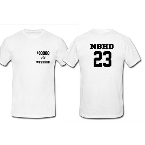 Nhbd 23 tshirt twoside