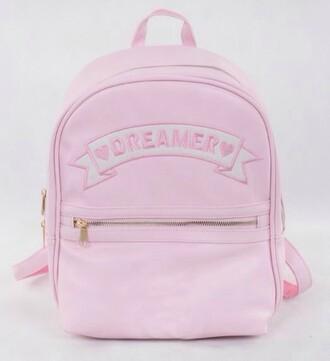 bag pastel pastel goth pastel pink it girl shop dreamcatcher cute kawaii hipster tumblr soft grunge hippie vintage girly style