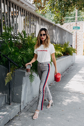 pants,streetstyle,fashion week,blogger,blogger style,jamie chung,plaid,top