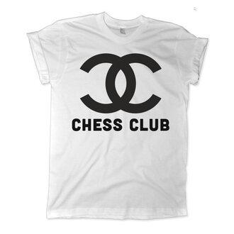 t-shirt chess chanel chess club