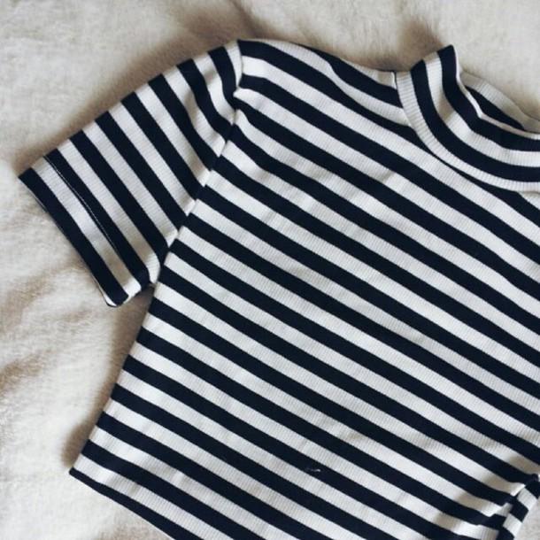 t-shirt striped shirt