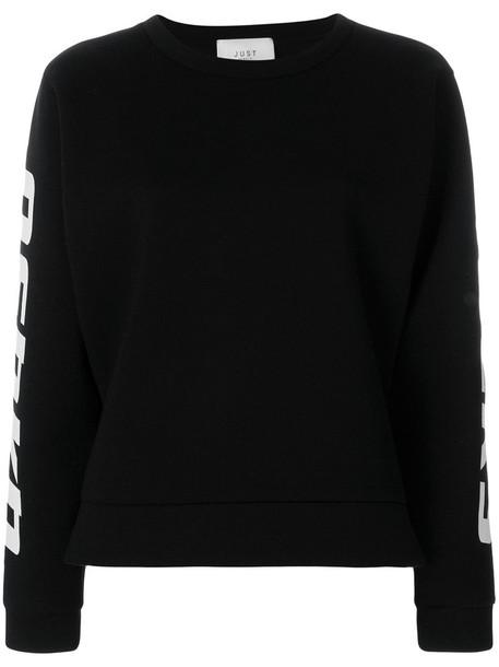 Just Female - Osaka sweatshirt - women - Polyester/Tencel - M, Black, Polyester/Tencel