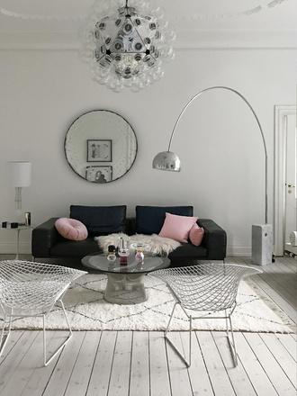 home accessory tumblr home decor furniture home furniture living room sofa pillow lamp chair table rug mirror