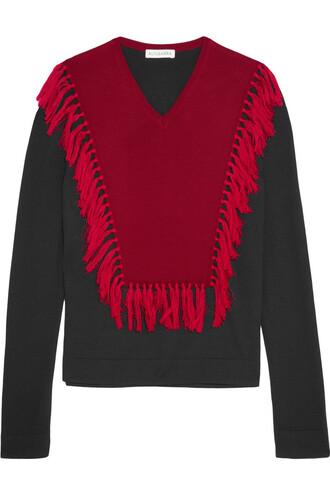 sweater wool sweater wool black