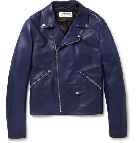Loewe - Leather Biker Jacket | MR PORTER