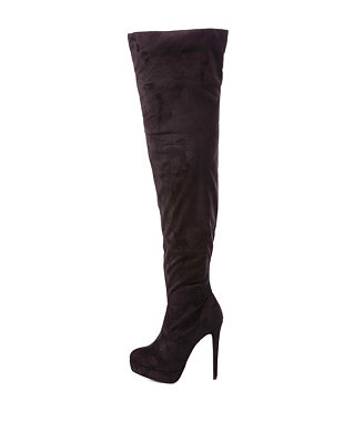 Knee boots: charlotte russe