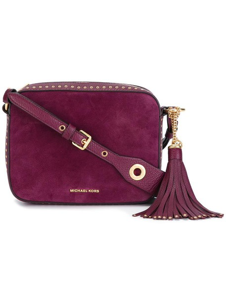 women brooklyn bag shoulder bag purple pink