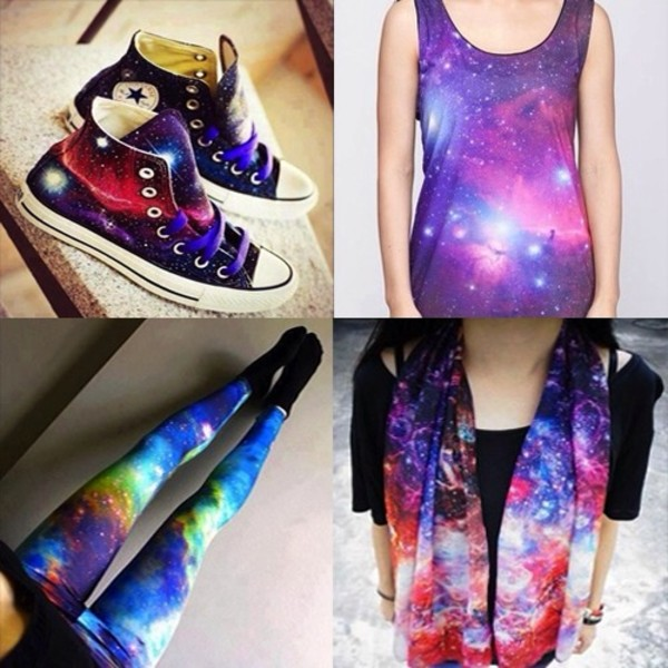 pants galxy beautiful leggings shirt shoes