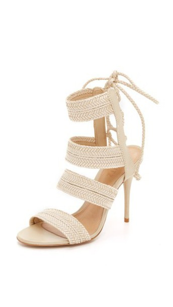 Schutz Duddy Sandals - Off White