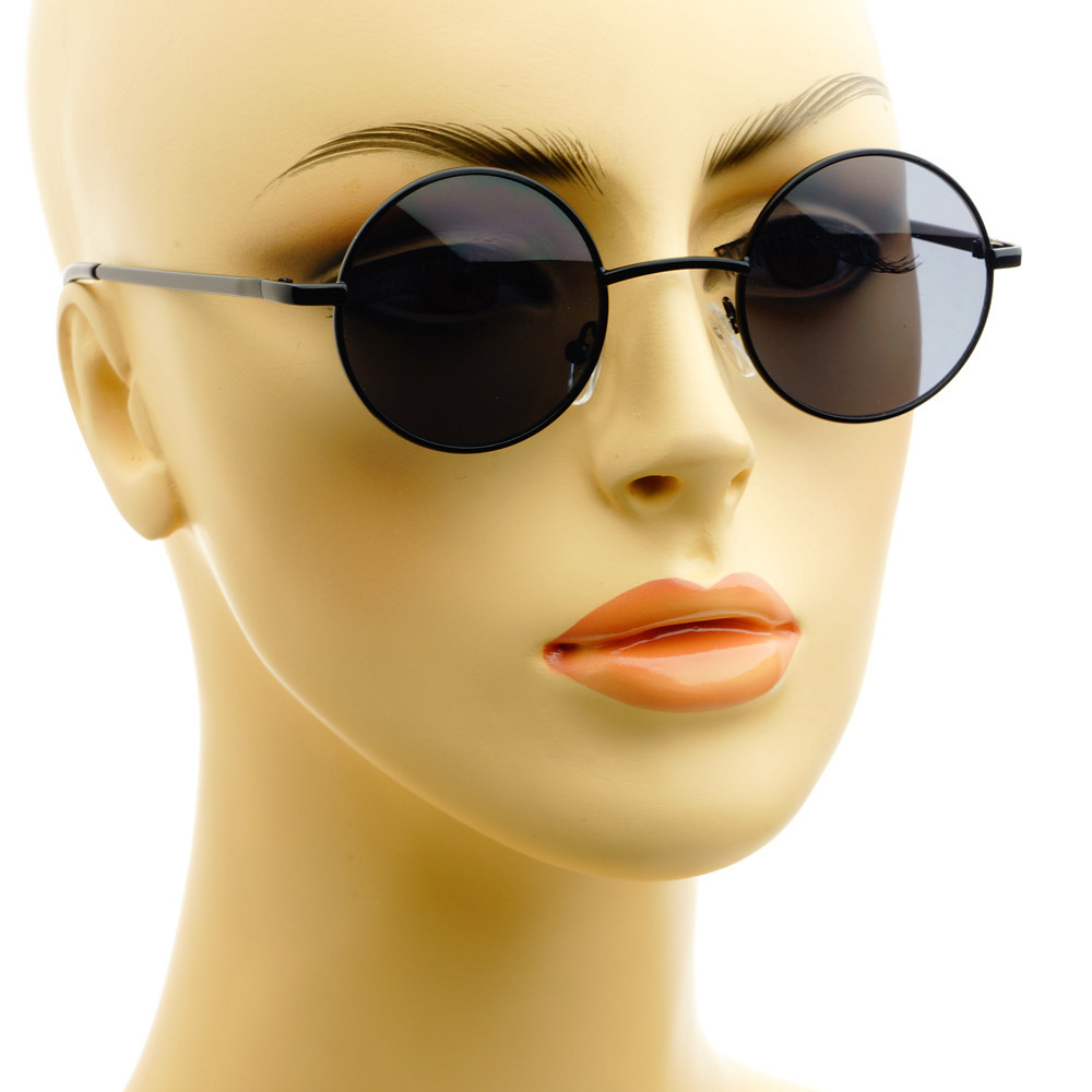 5483b05f3650 Celebrity Retro Vintage Style Small Metal Circle Round Sunglasses R285 –  FREYRS - Beautifully designed, cheap sunglasses for men & women