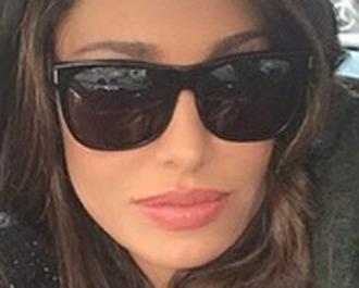 sunglasses black fashion design belen rodriguez