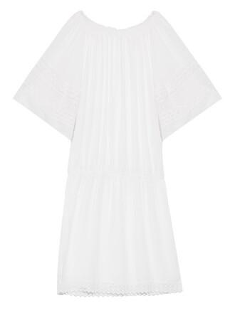 white swimwear