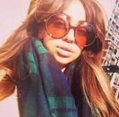 scarf,plaid,flannel scarf,green,blue,navy,dark gree