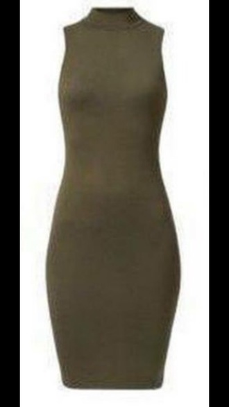 dress army green bodycon dress green green dress olive green olive green dress party dress bodycon high neck turtleneck sexy party dresses sexy sexy dress party outfits summer dress summer outfits classy dress elegant dress cocktail dress cute cute dress girly girly dress date outfit birthday dress summer holidays clubwear club dress wedding clothes dope