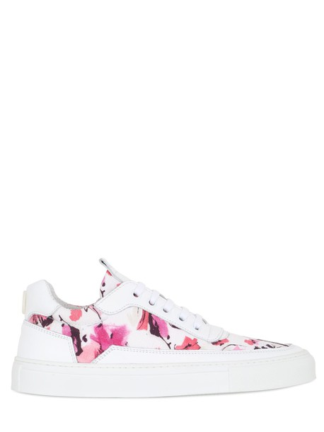 MARIANO DI VAIO sneakers leather white pink shoes