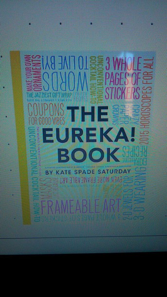 home accessory the eureka book kate spade diy book