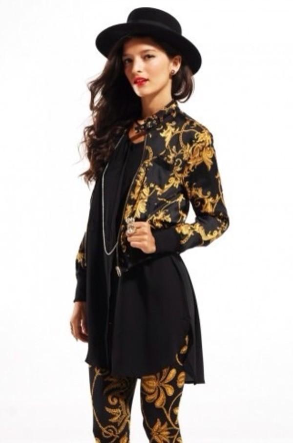 jacket gold sequins gold black black jacket bomber jacket black bomber jacket pattern