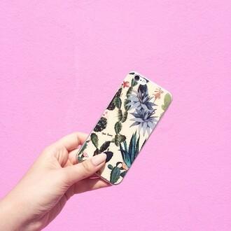 phone cover yeah bunny cactus succulent iphone iphone case