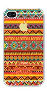 Amazon.com: Colorful Aztec Pattern rubber iphone 4 case - Fits iphone 4 and iphone 4s: Cell Phones & Accessories