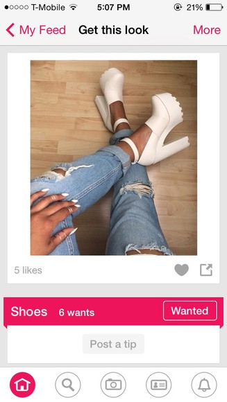 shoes jeffrey campbell high heels jeans