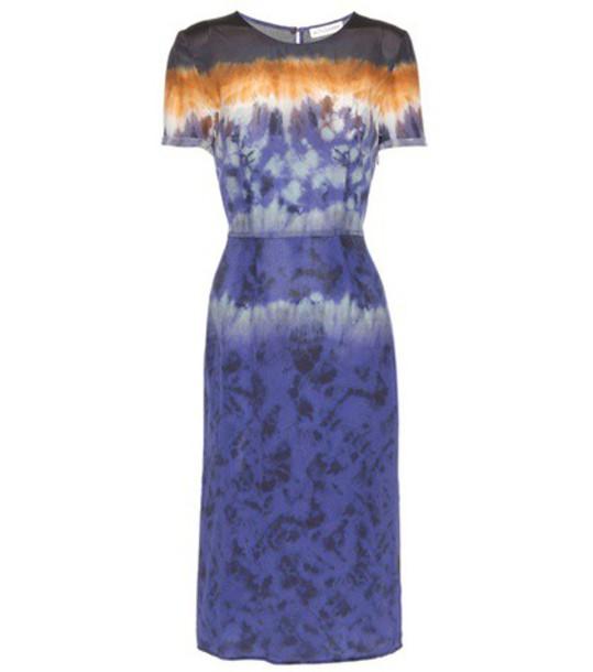 Altuzarra dress silk dress silk blue