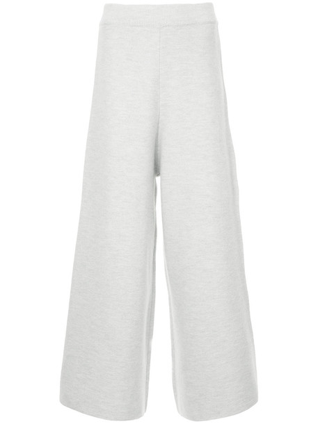 Cityshop cropped women wool grey pants