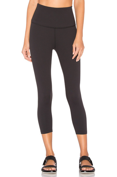 Beyond Yoga High Waist Capri Legging in black