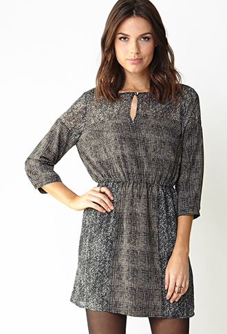 No Grey Area Shift Dress | FOREVER21 - 2000090006