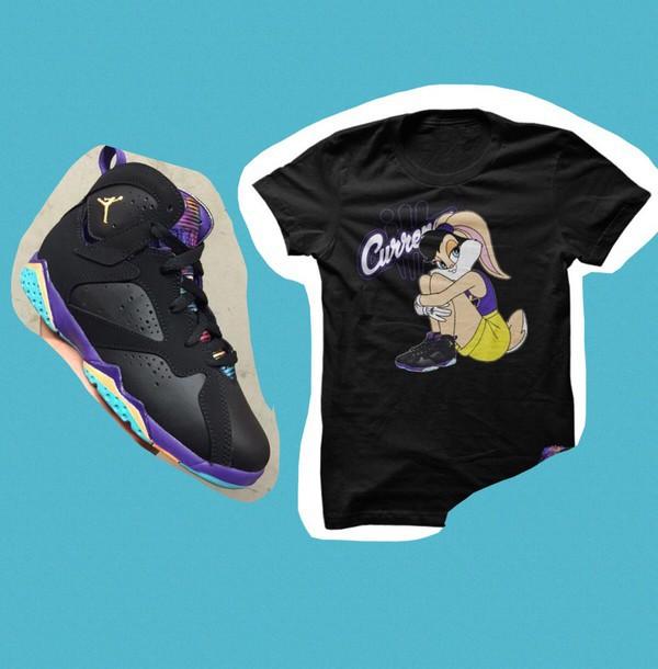 eea6a05576b shirt lola bunny 7s jordans purple cute swag shoes