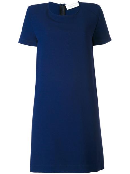 GIANLUCA CAPANNOLO dress shift dress women blue