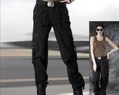 pants,black,tracksuit trousers,high waste cargo pants,black pants