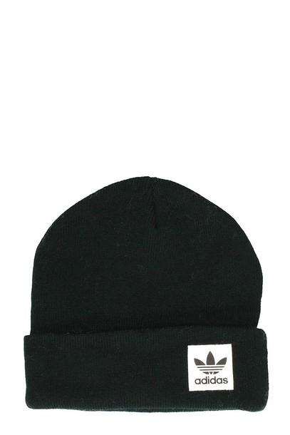 Adidas high beanie black wool hat