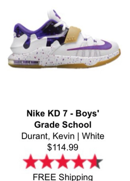 shoes purple and white  kds kevin durant 7 kds purple shoes gold shoes kids shoes nike shoes