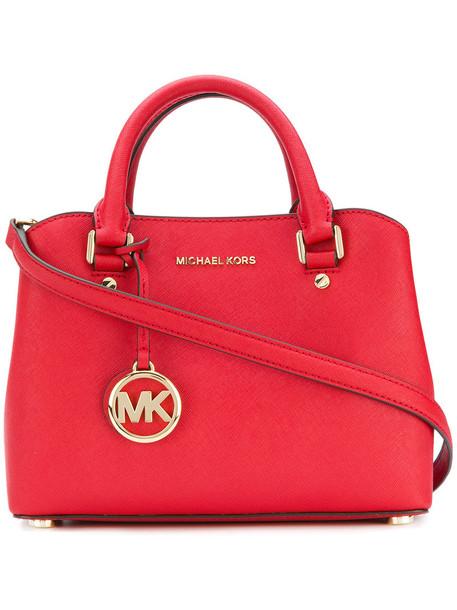 MICHAEL Michael Kors satchel women bag satchel bag leather red
