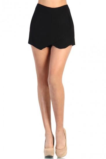 LoveMelrose.com From Harry & Molly | Zara Skort - Black
