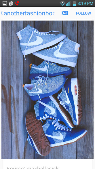 shoes nike nike roshe run nike air max 90 air max nike wedges light blue baby blue