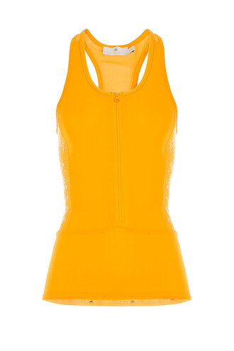 zip orange top